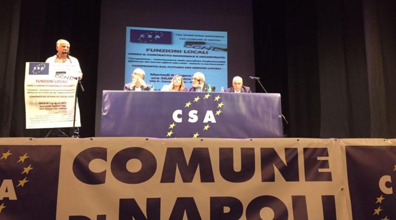 Lettera aperta del Segretario Generale al lavoratori del Comune di Napoli